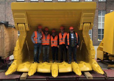 dthiload mining dump truck body 8